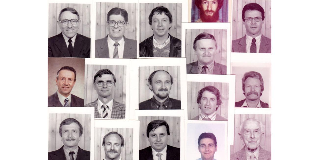 UEEL histoire photos pasteurs années 1970