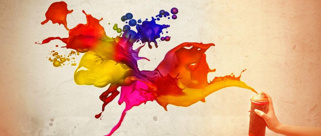 UEEL Pôle Développement - spray peinture multicolore