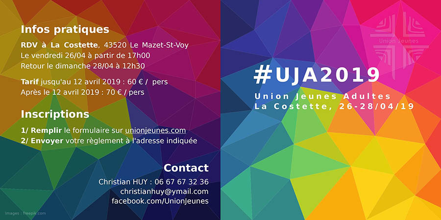 Union Jeunes Adultes @ La Costette
