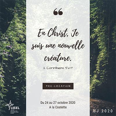 En Christ je suis une nouvelle créature